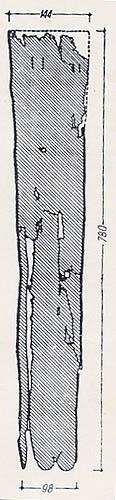 Кожаная оболочка ножен.